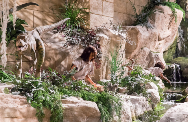 An exhibit at the Creation Museum